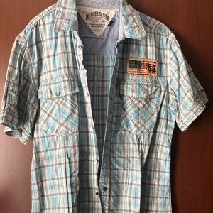 Tommy HILFIGER Men shirt LARGE